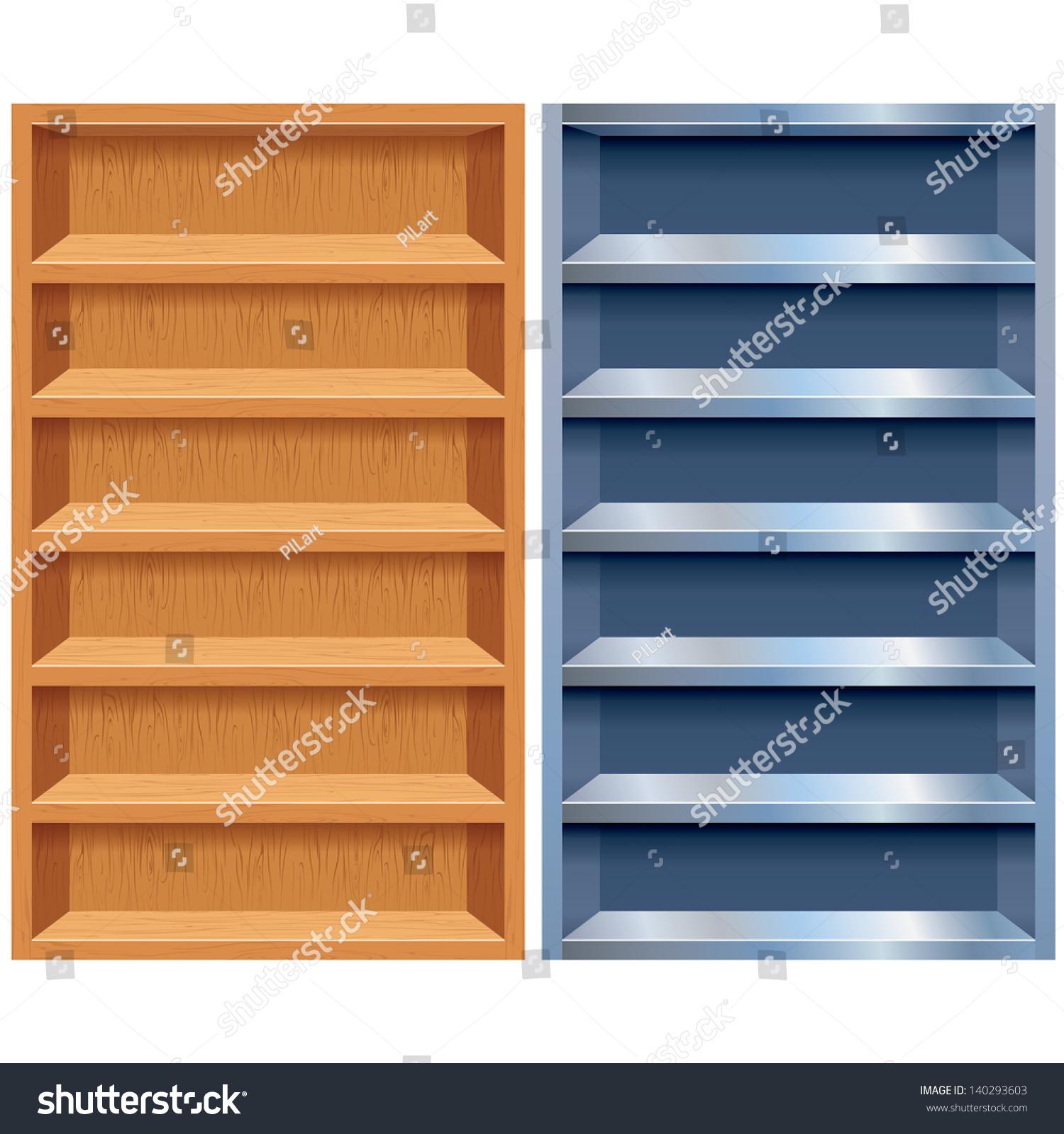 Shelf empty cupboard pencil. Bookshelf clipart display cabinet