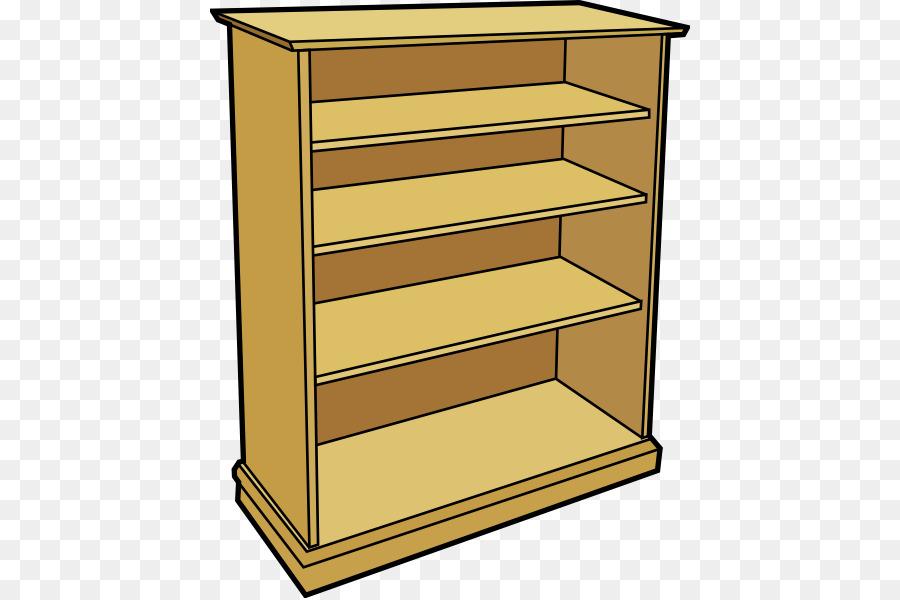 Shelf bookcase clip art. Bookshelf clipart furniture