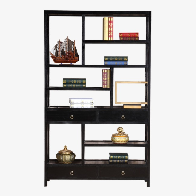 Bookshelf clipart furniture. Chinese style png image