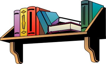 Free picture of. Bookshelf clipart furniture