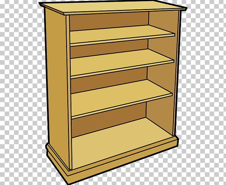 Shelf bookcase png angle. Bookshelf clipart furniture