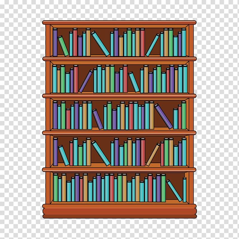 Bookshelf clipart furniture. Bookcase shelf transparent background
