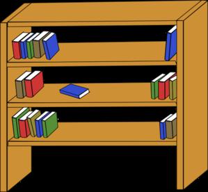 Clip art at clker. Bookshelf clipart long
