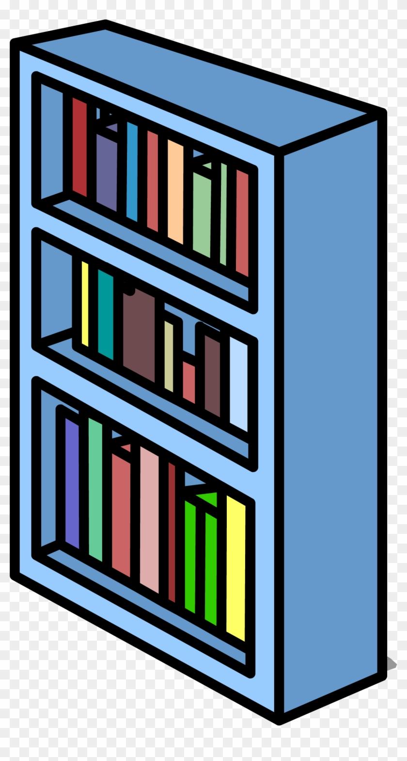 Bookshelf clipart long. Empty clip art transparent