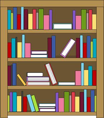Bookshelf Clipart Black And White