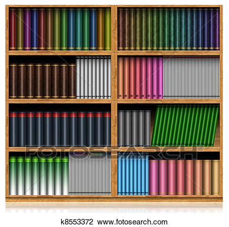 With books sitez co. Bookshelf clipart neat