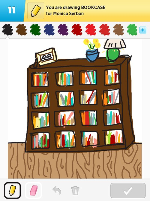 Bookcase drawing at getdrawings. Bookshelf clipart neat