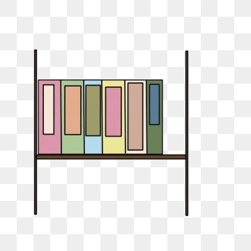Bookshelf clipart neat. Books png vector psd