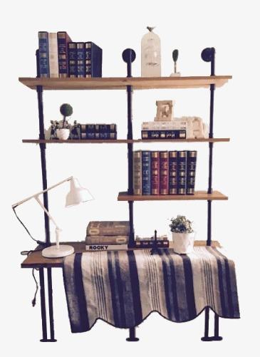 Bookshelf clipart neat. Books cartoon png image