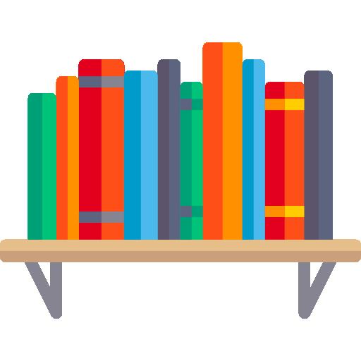 Bookshelf free vector icons designed by Freepik | library in ...