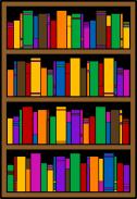 Tall Bookshelf Clipart