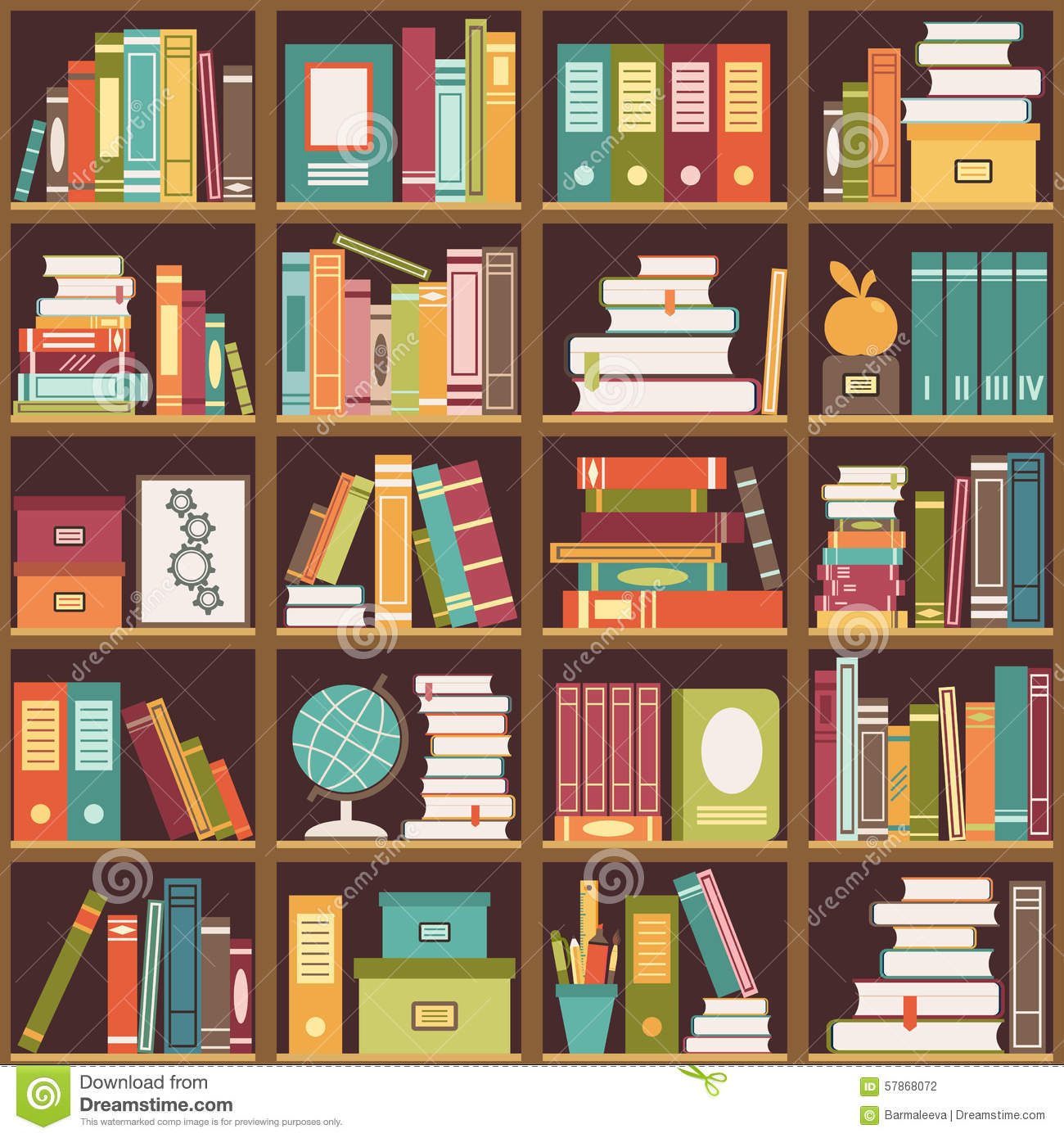 Bookshelf clipart shelving. Bookcase book background pencil