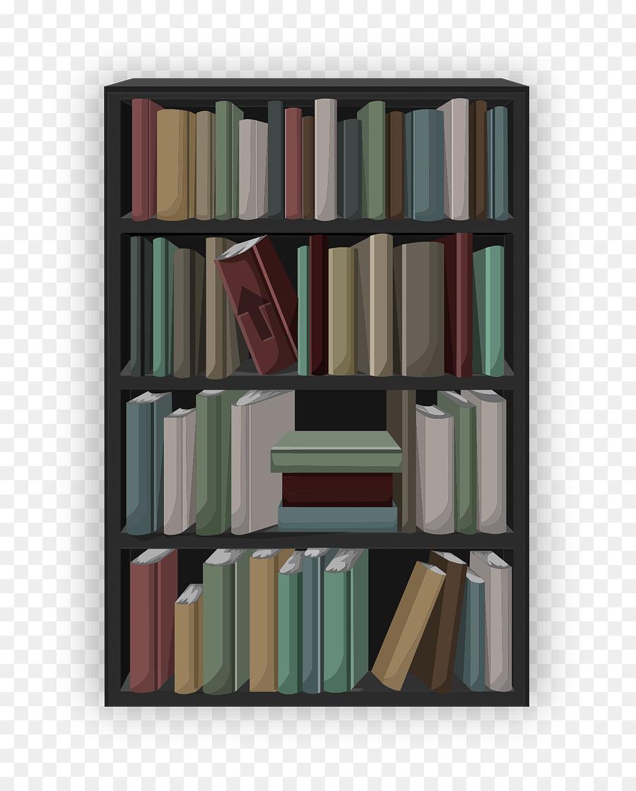 Bookshelf clipart transparent, Bookshelf transparent ...