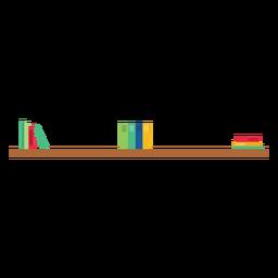 Bookshelf clipart wall shelf. Transparent png or svg