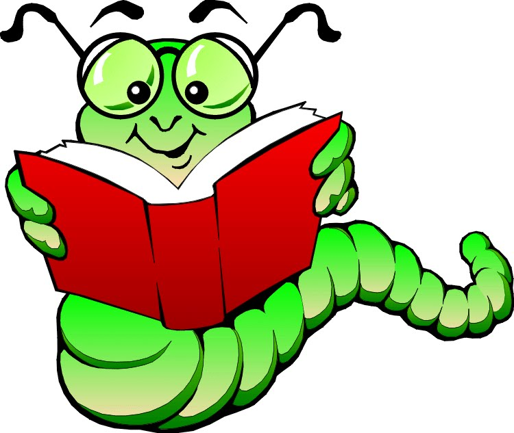 Animated bookworm clip art. Worm clipart classroom library