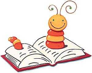 Bookworm clipart baby.