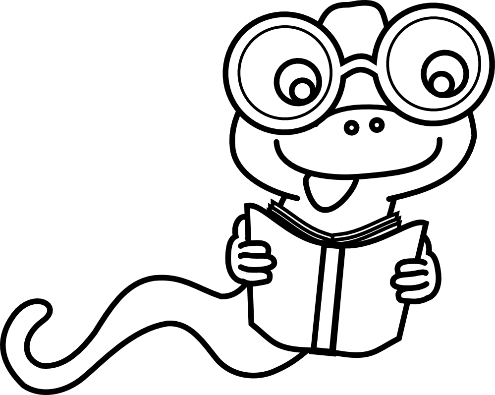 Clip art panda free. Bookworm clipart black and white