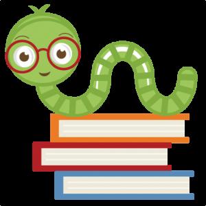 Worm clipart work. Cute bookworm svg cut