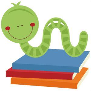 best school days. Bookworm clipart bookwork
