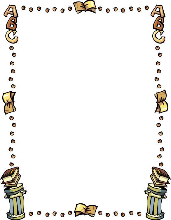 Bookworm border