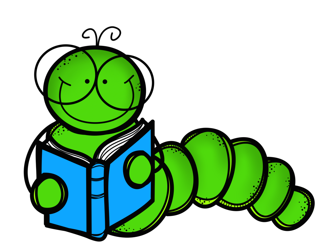 Worm clipart one. Bookworm party foods decorations