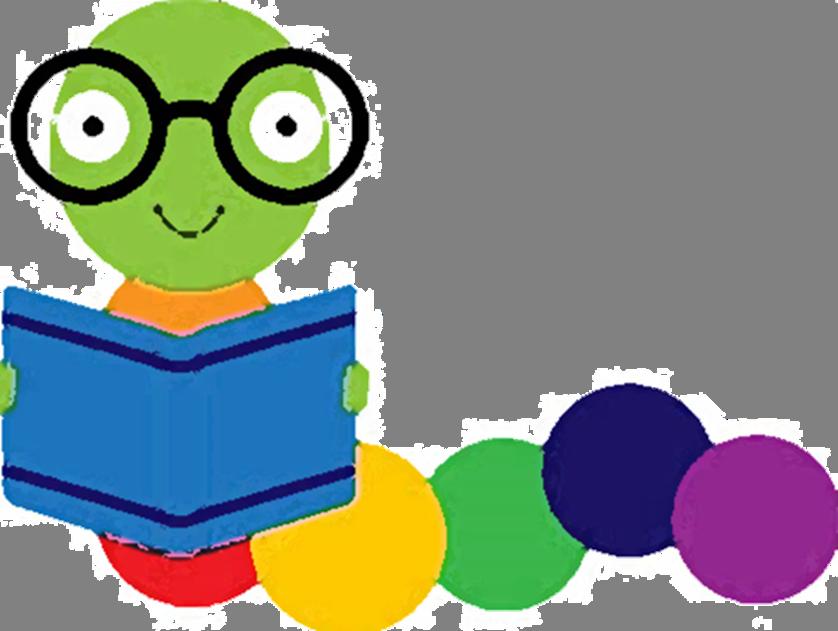 Buddies lackawanna county library. Worm clipart bookworm