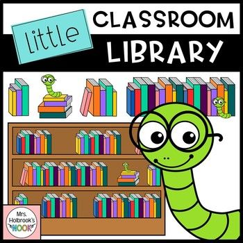 Library Clipart: Little Classroom Library | 1st-2nd Grade ...
