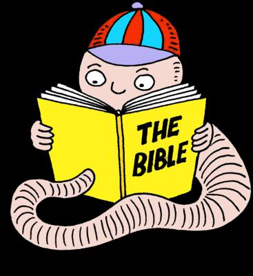 Image bible christart com. Bookworm clipart clip art