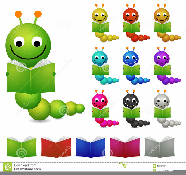 Bookworm clipart clip art. Reading free images at