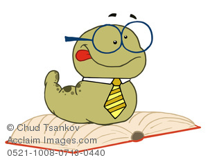 Illustration of a worm. Bookworm clipart glass