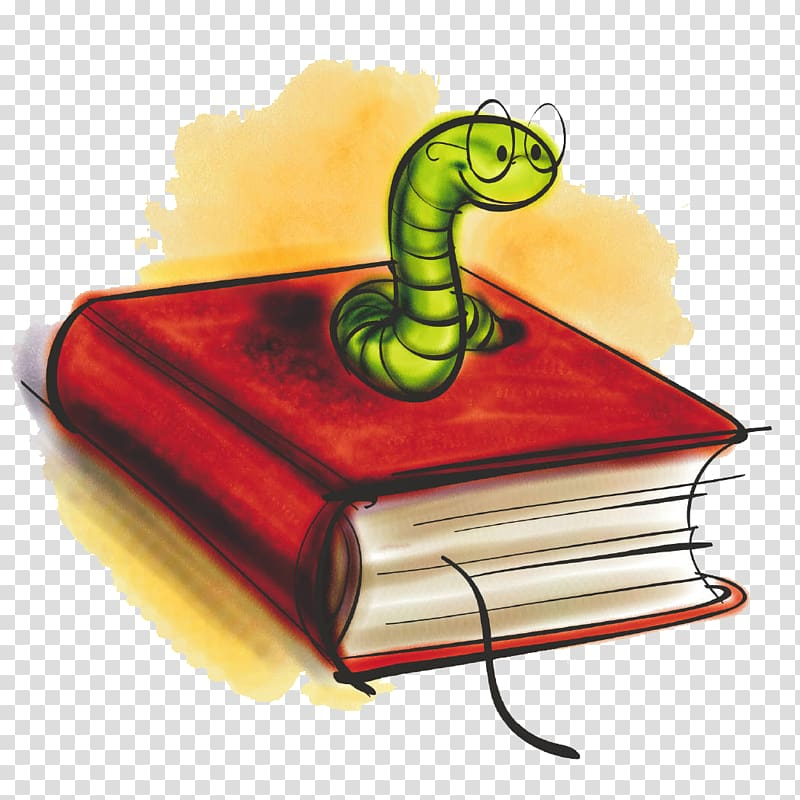 Bookworm clipart glass. Red book paperback reading