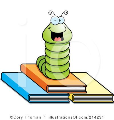 Book worm clip art. Bookworm clipart moral lesson