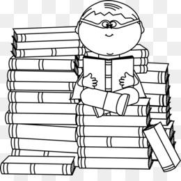 Bookworm clipart superhero. Black and white book