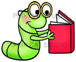 book worm clipartlook. Bookworm clipart superhero