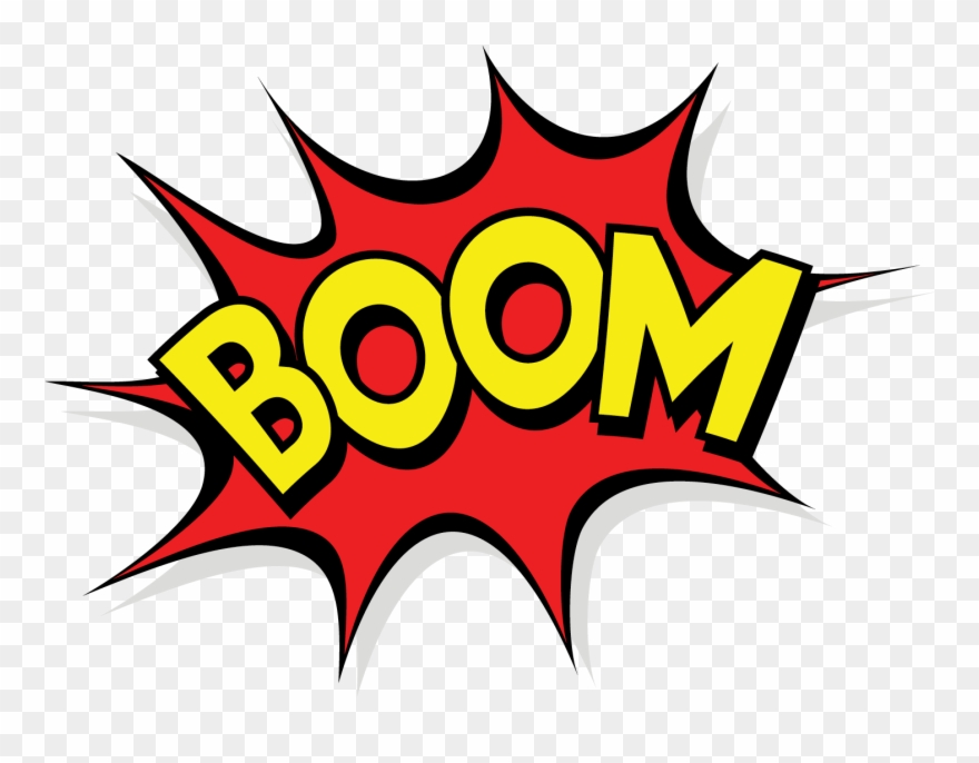 Boom clipart.  pow png pinclipart
