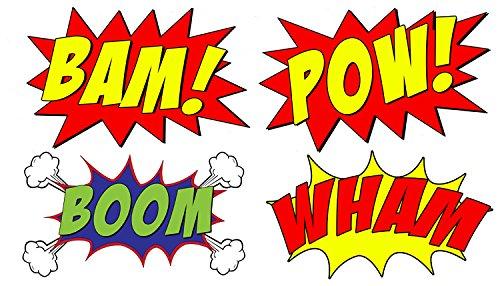 Amazon com comic book. Boom clipart bam