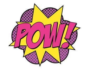 Boom clipart batman.  pow free cliparts