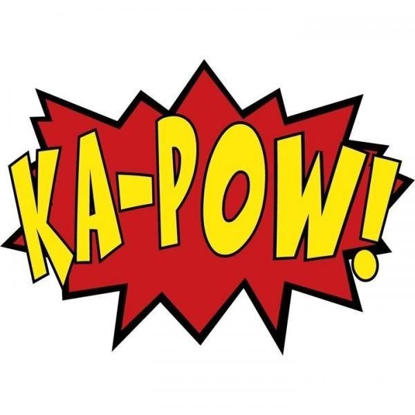Boom clipart batman. Decals zam kapow by