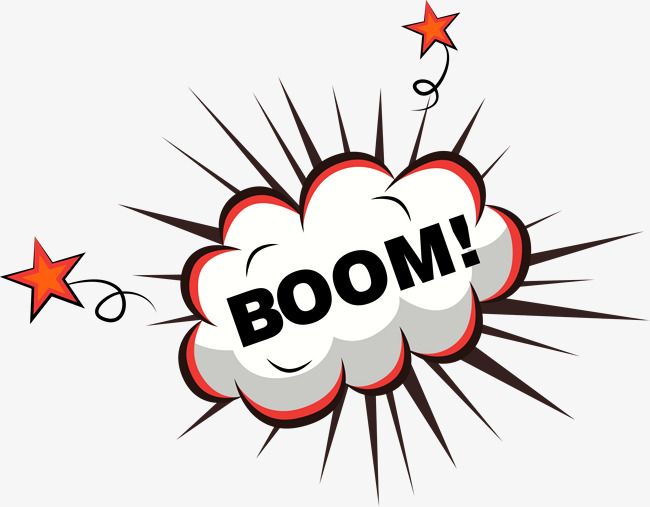 Boom clipart blast. Orange explosion effect png