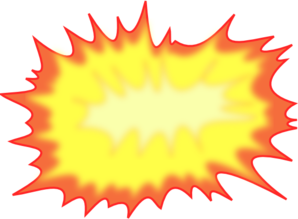 Explosion clip art at. Boom clipart blast