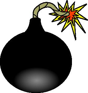 Clip art at clker. Boom clipart bomb