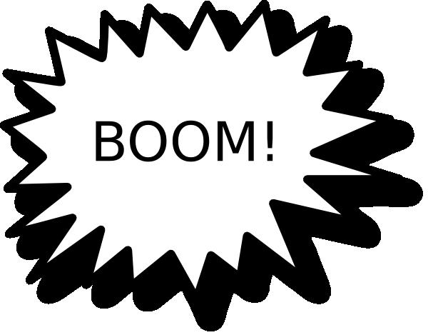 Boom clipart callout. Clip art at clker