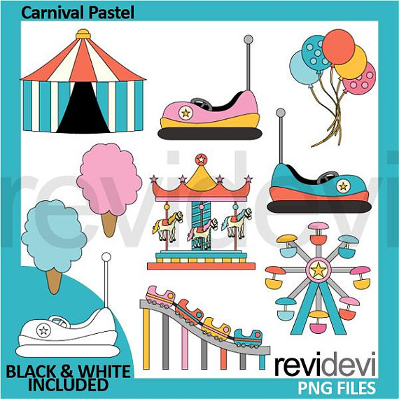 Commercial use carnival amusent. Boom clipart car
