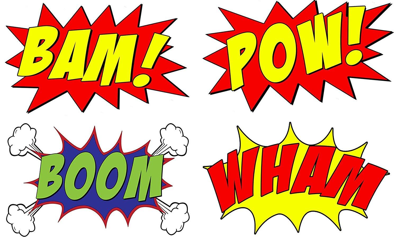 Amazon com vwaq set. Boom clipart comic book