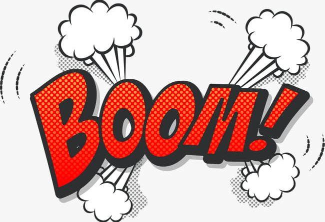 Boom clipart explosive. Orange explosion png blast