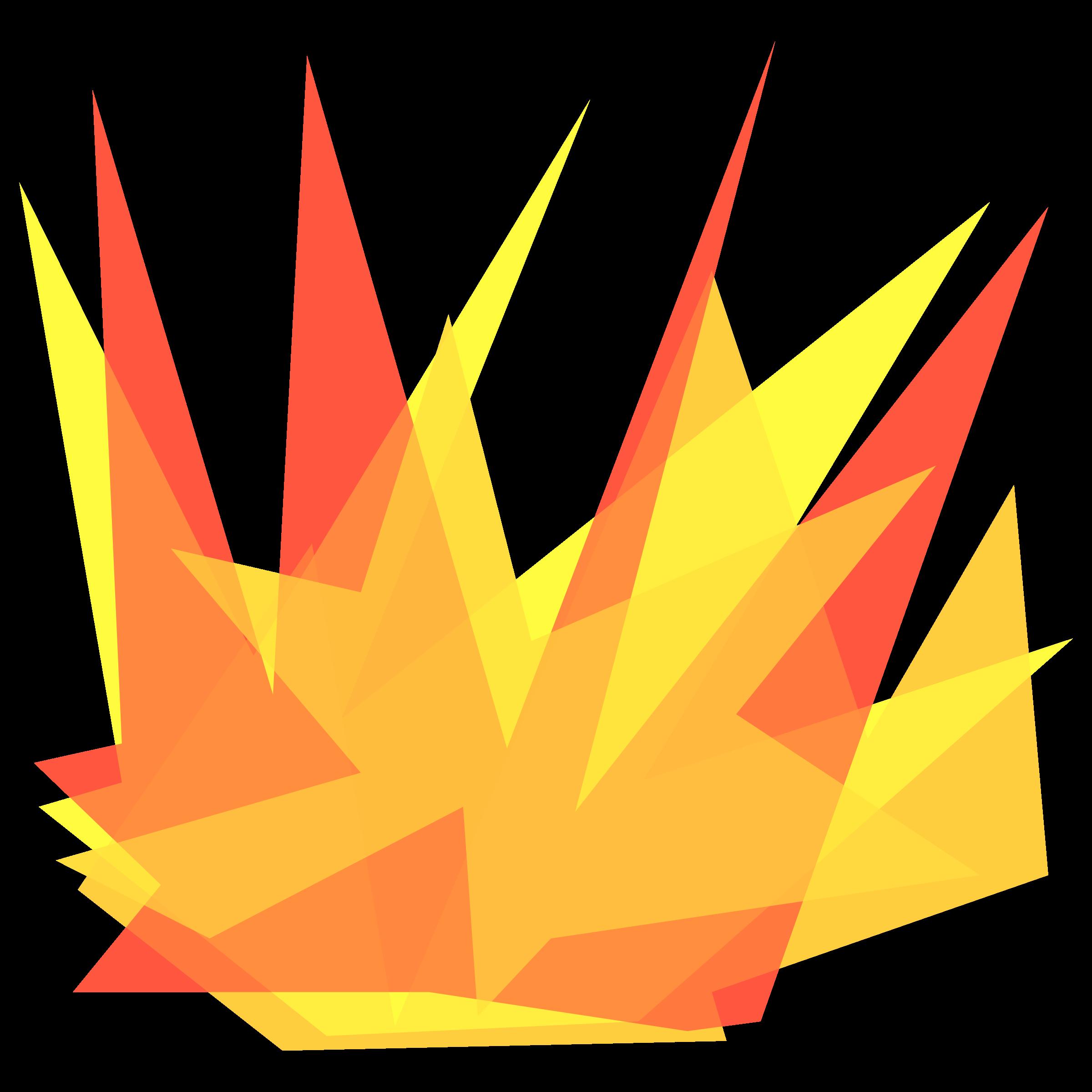 Simple cartoon big image. Explosion clipart boom