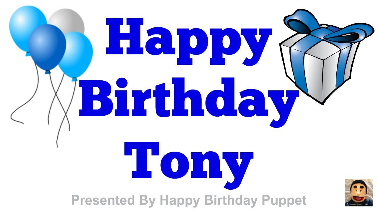 Boom clipart happy birthday. Tony best song ever