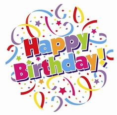 Birthday clipart. Happy have a nice