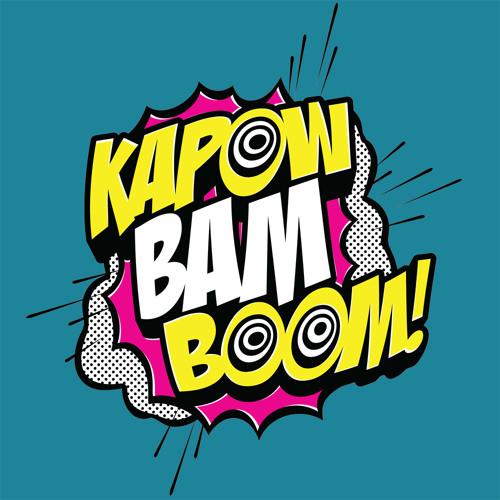 Bam free listening on. Boom clipart kapow