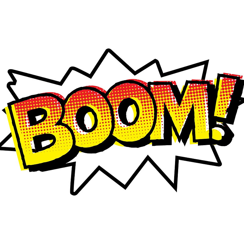 Free images download clip. Boom clipart onomatopoeia